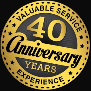 WG 40 year logo