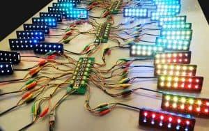 lights on table